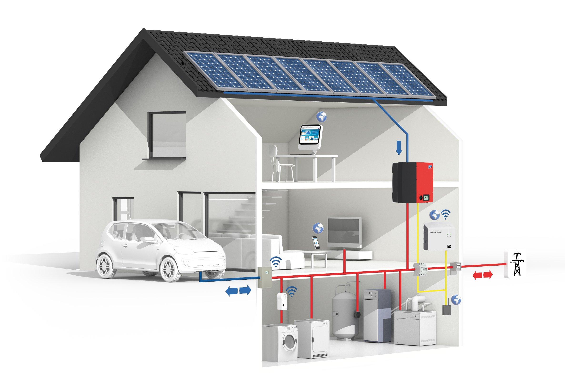 Schema Quadro Elettrico Per Fotovoltaico : Accumulo a batterie energetica u fotovoltaico rinnovabili